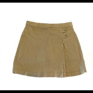 Lands End uniform skirt